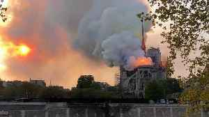 Notre Dame fire: French MPs pass law to rebuild fire-ravaged cathedral in five years [Video]