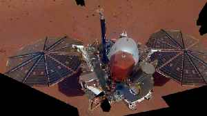 Martian Winds Clean Off Some Of The Dust Gathered On InSight's Solar Panels [Video]