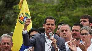 Venezuela's opposition leader Juan Guaidó claims he has the support of the military [Video]