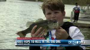 Young anglers hope for the big one at Governor's Fishing Challenge [Video]