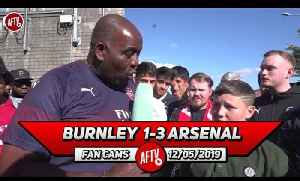 News video: Burnley 1-3 Arsenal | I Think We Will Beat Chelsea In The Europa League Final!