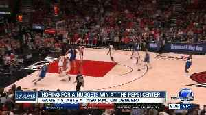 Nuggets enter Game 7 against Trail Blazers [Video]