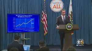 Gov. Newsom Proposes Plan For Large Budget Surplus In May Revise [Video]