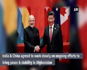 India China to cooperate closely on Afghanistans peace efforts [Video]