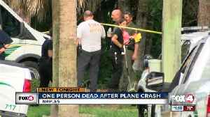 One dead after plane crash in Naples [Video]