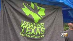 Supporters March In Fort Worth For Marijuana Reform In Texas [Video]