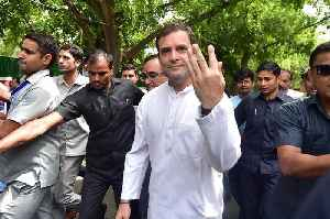 'Love will win': Rahul Gandhi after casting his vote in Delhi [Video]
