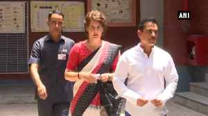 'It's clear BJP govt is on its way out': Priyanka Gandhi after casting vote [Video]