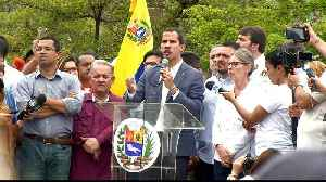 Venezuela's Guaido 'to seek US military support' in bid to topple Maduro [Video]