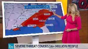 Severe Weather Threat Moves East [Video]