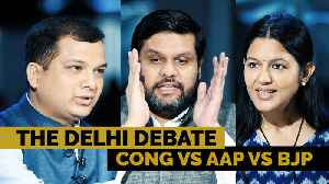 The Delhi Debate | AAP's statehood vow vs BJP's nationalism vs Cong's Nyay [Video]