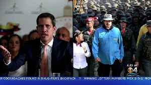 Venezuela Opposition Leader Juan Guaidó Looking To Build Relations With US Military [Video]