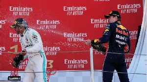 Lewis Hamilton Wins 5th Straight For Mercedes [Video]