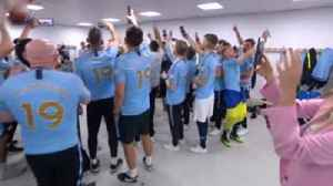 Noel Gallagher celebrates with City team [Video]