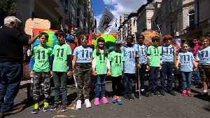 Children lead climate change marches across Europe [Video]