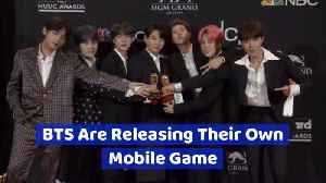 BTS Is Now Getting A Mobile Game [Video]