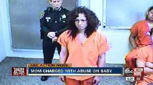 Mother arrested in Pinellas County for abusing baby because he couldn't stand, police say [Video]