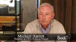 Post-Cookie, Open Web Has A Bright Future: Rubicon's Barrett [Video]