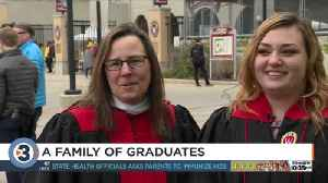Mother, daughter graduate from UW-Madison [Video]