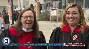 Mother and daughter graduate from UW Madison with bachelor's, master's degrees [Video]