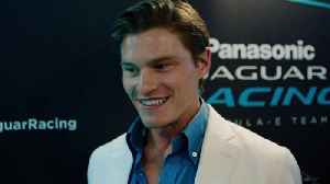 Oliver Cheshire, a guest at the Formula E Race in Monaco [Video]