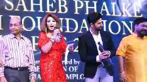 Rakhi Sawant, Gurmeet Choudhary bag Dadasaheb Phalke film foundation Awards 2019 [Video]