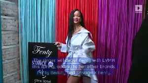 Rihanna Announces Launch of Luxury Fashion Line [Video]