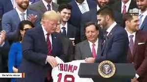 Trump Attributes Boston Red Sox's Recent Wins To White House Visit [Video]