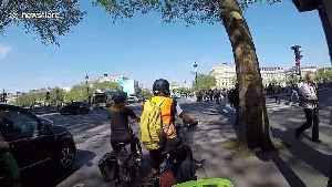 E-scooter riders bring chaos to the streets of Paris [Video]