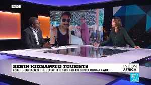 Benin kidnapped tourists : four hostages freed  by French forces in Burkina Faso [Video]