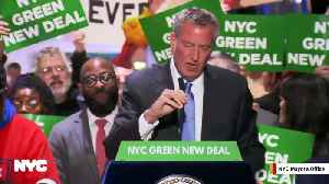 Watch: NYC Mayor Bill de Blasio's Press Conference At Trump Tower Disrupted By Loud Music And Trump Supporters [Video]