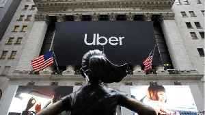 Uber Shares Drop Further On Second Day Of Trading [Video]