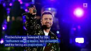 Justin Timberlake and Missy Elliot Receive Honorary Doctorates From Berklee College [Video]