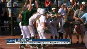 CSU softball team heading to NCAA tournament [Video]