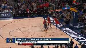 Nuggets fall to the Portland Trail Blazers Sunday afternoon, ending Denver's season [Video]