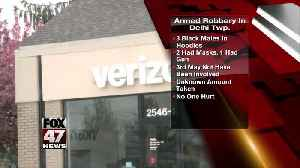 Police investigate armed robbery at Verizon store [Video]