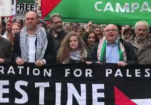 Teen Activist Ahed Tamimi Joins Pro-Palestine March in London [Video]