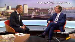 Angry Farage slams BBC during interview [Video]