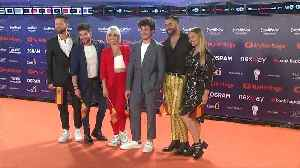 Eurovision Song Contest stars arrive on Tel Aviv's orange carpet [Video]