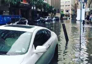 Floodwaters Fill Streets of Downtown New Orleans [Video]