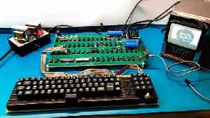 Rare Apple-1, originally sold for just $666, computer going on auction [Video]