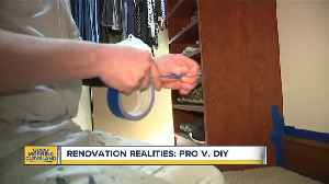 Renovation Realities: When you should take on a DIY project and when you should call a pro [Video]