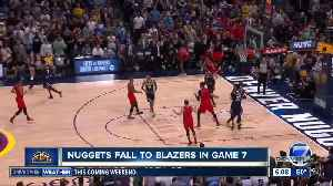 Nuggets fall to Trail Blazers in Game 7 [Video]