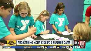 YMCA offers variety of summer camps for kids [Video]