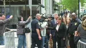 Huffman arrives at court, expected to plead guilty [Video]