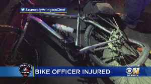 Arlington Bicycle Officer Hit By SUV While Working Near AT&T Stadium [Video]
