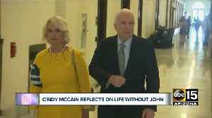 Cindy McCain reflects on life without John McCain [Video]