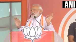 News video: 'Ab bahut hua (enough is enough),' PM Modi jabs Opposition at Ratlam rally