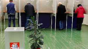 News video: Lithuania presidential election: Nauseda and Simonyte will head to a second round