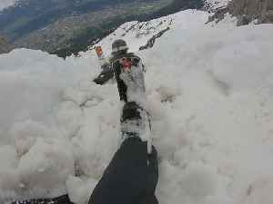 People Get Caught in Slush Avalanche Skiing Down Mountain in Austria [Video]